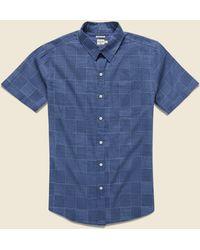 Bridge & Burn Harbor Shirt - Blue Check
