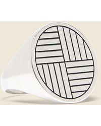 LHN Jewelry Ruskin Ring - Metallic
