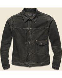 RRL Cowboy Jacket - Erie Wash - Black
