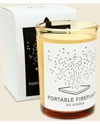 D.s. & Durga Candle - Portable Fireplace - Multicolor