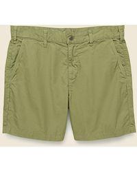 Save Khaki 6-inch Bermuda Short - Olive Drab - Green