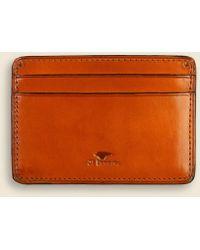 Il Bussetto - Credit Card Case - Orange - Lyst