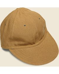 The Hill-side - American Duck Canvas Ballcap - Brown - Lyst