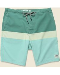 a989f9f0c2 Katin Dolphin Surf Trunk in Natural for Men - Lyst