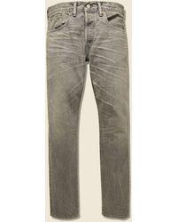 RRL Slim Fit Jean - Cloudy Gray Wash