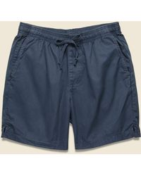 Save Khaki Light Twill Easy Short - Marine - Blue