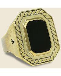 LHN Jewelry 40 Knots Ring - Metallic