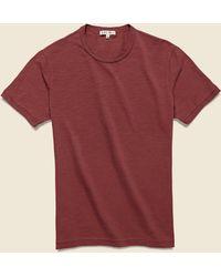 Alex Mill Standard Slub Cotton Tee - Red