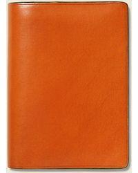 Il Bussetto - Bi-fold Card Case - Orange - Lyst