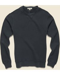 Alex Mill French Terry Crew Sweatshirt - Washed Black
