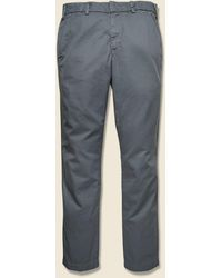 Save Khaki Light Twill Trouser - Metal - Blue