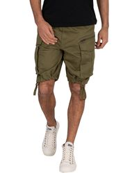 G-Star RAW Rovic Zip Relaxed 1/2-length Shorts - Blue