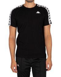 Kappa 222 Banda Coen Slim T-shirt - Black