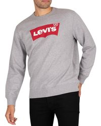 Levi's Graphic Sweatshirt - Gray