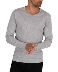 G-Star RAW Longsleeved Slim T-shirt - Grey