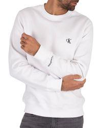 Calvin Klein Essential Sweatshirt - White