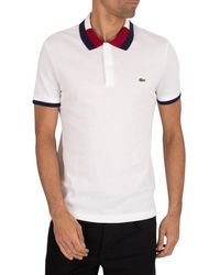 Lacoste Logo Polo Shirt - White