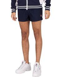 Fila Hightide Terry Pocket Stripe Sweatshorts - Blue