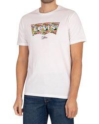 Levi's Housemark Graphic T-shirt - White