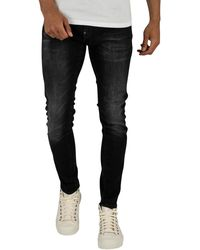 G-Star RAW Revend Skinny Jeans - Black