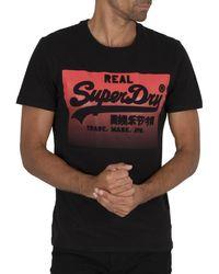 Superdry - Halftone Emboss T-shirt - Lyst