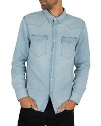 Levi's Barstow Western Shirt - Blue