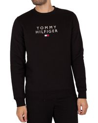 Tommy Hilfiger - Stacked Flag Sweatshirt - Lyst