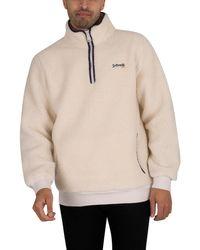 Schott Nyc Andric 2 Fleece Sweatshirt - Natural