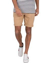 Tommy Hilfiger Essential Slim Chino Shorts - Natural