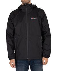 Berghaus Deluge Light Shell Jacket - Black
