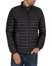 Tommy Hilfiger Core Packable Down Jacket - Black