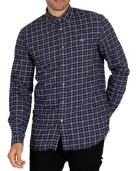 Lacoste Longsleeved Casual Shirt - Blue