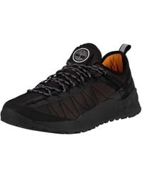 Timberland Solar Wave Low Mesh Trainers - Black