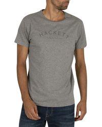 Hackett Classic Logo T-shirt - Gray
