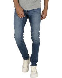 Jack & Jones Glenn Original 814 Slim Jeans - Blue