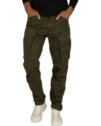 G-Star RAW Tapered Rovic 3d Cargos - Green