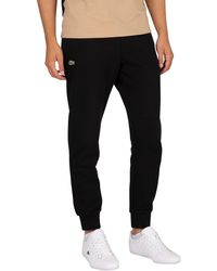 Lacoste Logo Sweatpants - Black
