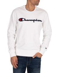Champion Graphic Sweatshirt - White