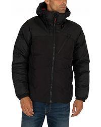 b9d20dc69 Timberland Mount Webster Leather Bomber Jacket in Black for Men - Lyst