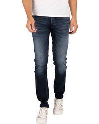 Jack & Jones Glenn Original 210 Slim Jeans - Blue