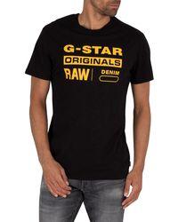 G-Star RAW Graphic 8 T-shirt - Black