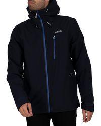 Regatta Birchdale Waterproof Jacket - Blue