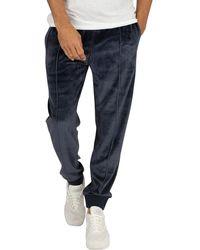 Champion Cuffed Sweatpants - Blue