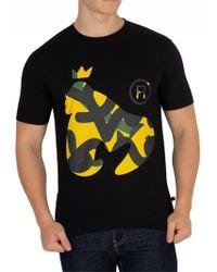 Money Black Sig Camo Ape T-shirt