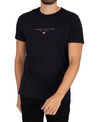Tommy Hilfiger Essential T-shirt - Black