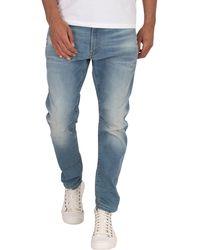 G-Star RAW D-staq 3d Slim Fit Jeans - Blue
