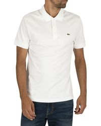 Lacoste Logo Polo Shirt - White