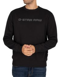 G-Star RAW Loaq Sweatshirt - Black