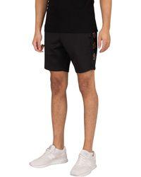 Luke 1977 One Small Step Sweat Shorts - Black