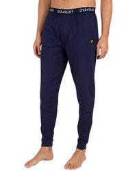 Lyle & Scott Ezra Pajama Bottoms - Blue